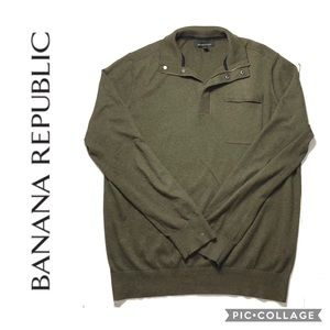 Banana Republic Greens Pullover